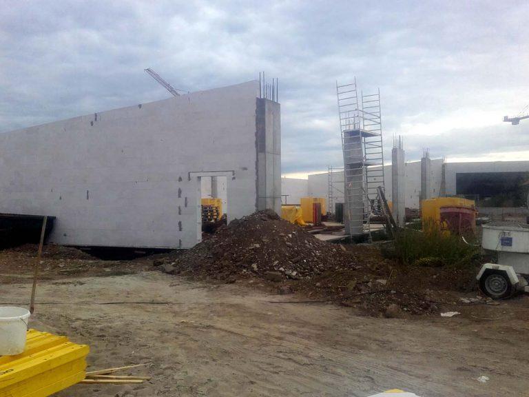 Baustelle-außen