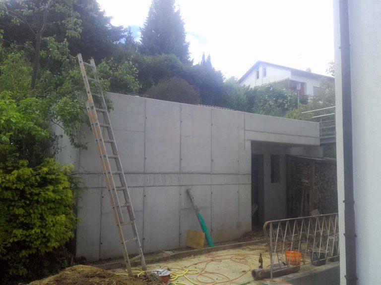 Beton-Gartenhaus-vorne